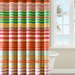 Stripped Shower Curtainsgood looking colorful striped shower curtains engaging colorful