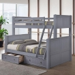 wooden bunk bed twin over full - interior paint color schemes
