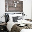 master-bedrooms-pinterest-kingsize-bed-with-gray-rug-leather-slats-platform-bed-striped-padded-wooden-armless-chair-wooden-dresser-storage-grey-tufted-upholstered-headboard