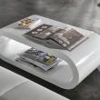 Wohnzimmertisch Oval Holz Noveric For Wohnzimmertisch Weiß LuxusHaus