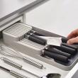 Joseph-Joseph-DrawerStore-Messer-Ordnungshelfer-grau-mit-Messer-Ambinete