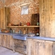 Vintage-wooden-kitchen