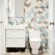 bathroom-wallpaper-patterns-shorebirds-patternsshorebirds-bold-tile-designs-hgtvs-decorating-design-blog-hgtv-supreme