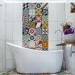 best-25-bathroom-feature-wall-ideas-on-pinterest-freestanding-bath-wall-tile-and-ensuite-room-bathroom-wall-tile-design-patterns