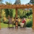 Best 25 Corner Pergola Ideas On Pinterest Outdoor Life Pergola Triangle Pergola Designs