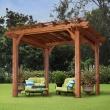 best-solutions-of-backyard-discovery-10-x-10-cedar-pergola-brown-walmart-with-backyard-pergola-of-backyard-pergola