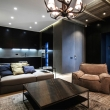 black-open-plan-kitchen-bachelor-apartment