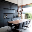black-open-plan-kitchen-dining-room