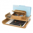 desk organization pinterest Best of Safco Products Bamboo Deluxe Organizer
