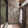 outdoor shower floor ideas New 574 best Outdoor showers gotta have one images on Pinterest