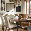 Gracieux Table à Manger En Bois Grande Table Manger En Bois Massif Avec Quelles Chaises Et Dcoration