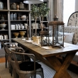 modern rustic dining table New 151 best dining room images on Pinterest