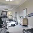 clean-bright-home-gym-designs-with-portable-fitness-equipment-training-equipments-vintage-drawer-and-mirror-large-mirror