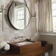 bathroom best round mirrors ideas on pinterest small incredible Luxury small round bathroom mirror