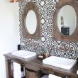 Extraordinary Modern Farmhouse Bathroom Remodel Reveal Pinterest Farmhouse For Farmhouse Style Mirror