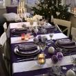 Ideas-para-decorar-el-comedor-en-color-morado-para-navidad