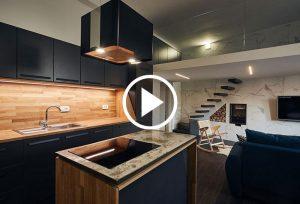 Stanovanje Mesarska, DVA arhitektura