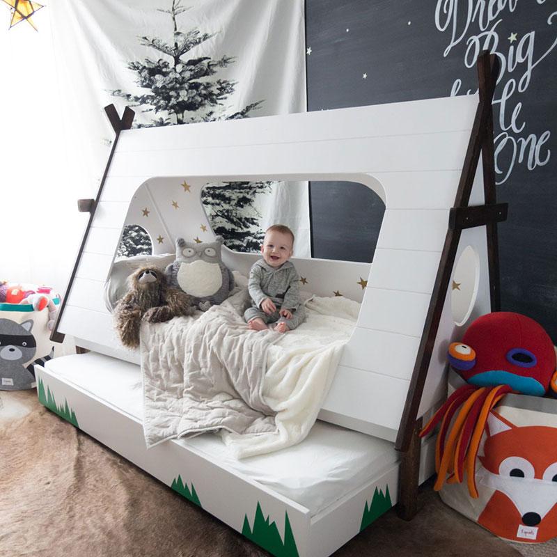 izvirne otroške postelje