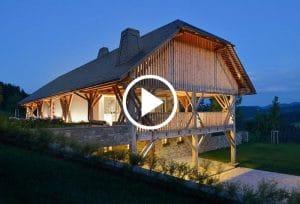 Hiša Vrhe, Styria arhitektura