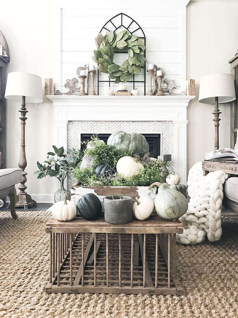 Jesen v dnevni sobi