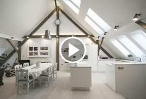 Mansarda, Atelier arhitekti