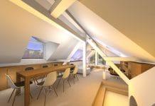 Prenova podstrešja, Hafner arhitekti