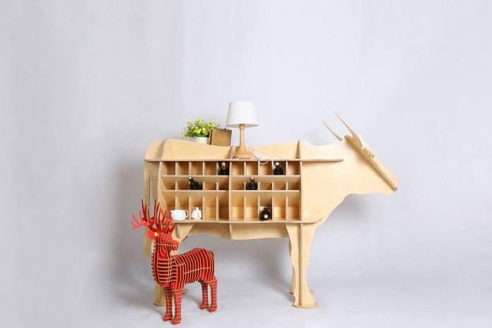 pohištvo v obliki živali