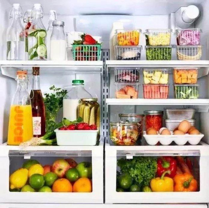 shranjevanje živil v hladilniku