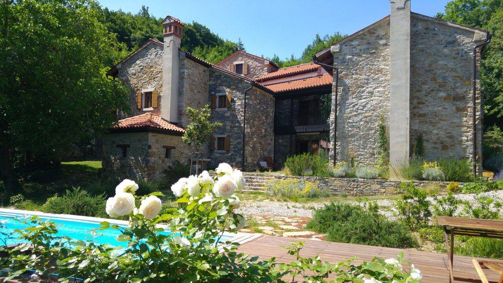 Hiša v Goriških Brdih